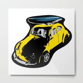Surf Beetle Metal Print