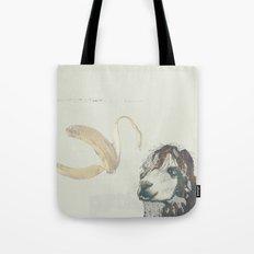 Lama banana Tote Bag