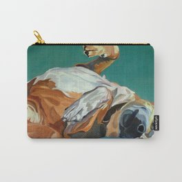 Johnny the Dog Rests Carry-All Pouch