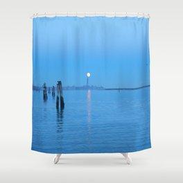 tramonti_veneziani Shower Curtain