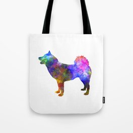Greenland Dog in watercolor Tote Bag