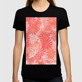 LIVING CORAL - FLORAL ASSORTMENT - COLOR OF THE YEAR 2019 T-shirt