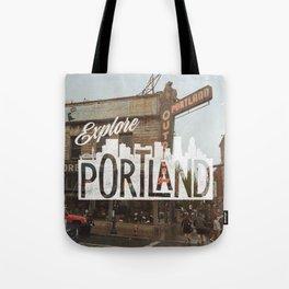 Explore Portland Tote Bag