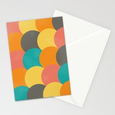 Bright Decaying Scales Stationery Cards