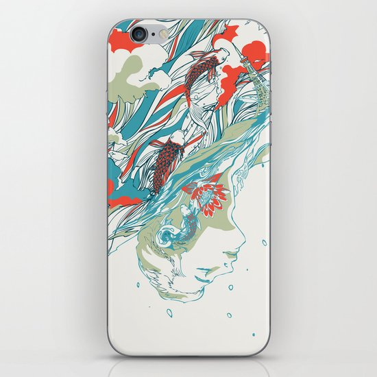 Colours In The Sky iPhone & iPod Skin