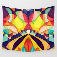 Poetry Geometry Wall Tapestry
