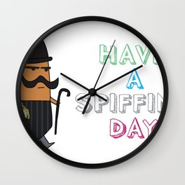 Spiffing Wall Clock