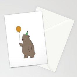 Bear Party Stationery Cards