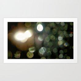 the blurr Art Print