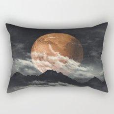 Spaces III - Mars above mountains Rectangular Pillow