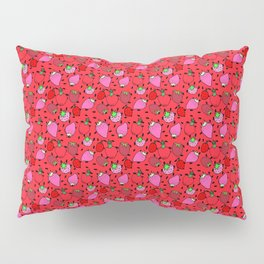 Strawberry Pattern Pillow Sham
