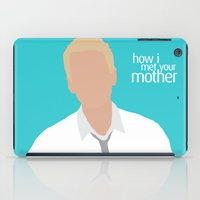himym iPad Cases featuring Barney Stinson HIMYM by Rosaura Grant