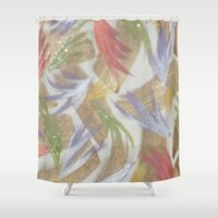 easter Shower Curtains featuring Easter by Kat Dermane