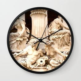 Beautiful Sculptures #decor #society6 Wall Clock