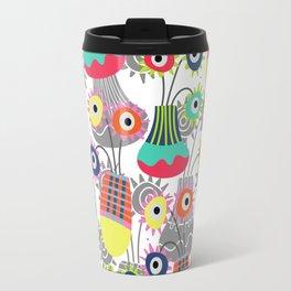 Flower Pots Travel Mug