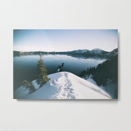 To The Lake Metal Print
