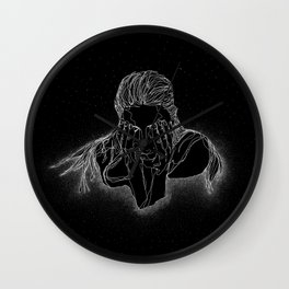 A Dip in The Universe Wall Clock