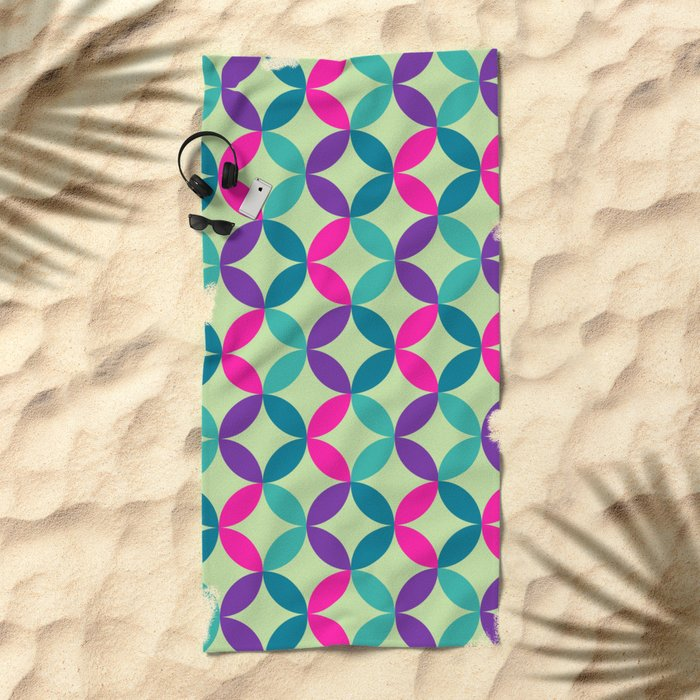 Color Switch II Beach Towel