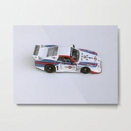 Martini Lancia Slot Car Metal Print
