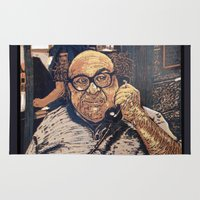 danny haas Area & Throw Rugs featuring Danny Devito Reduction Print by Drewnelz