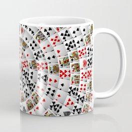 Playing cards swirl Coffee Mug