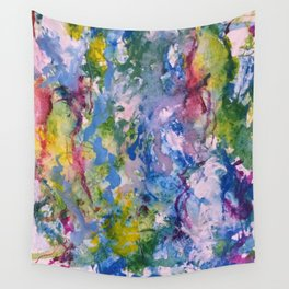 Raining Color Wall Tapestry