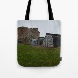 Lindisfarne Castle Tote Bag