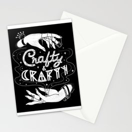 Crafty & Crafty - B&W Stationery Cards