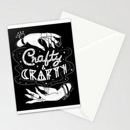 Crafty & Crafty - B&W Stationery Cards