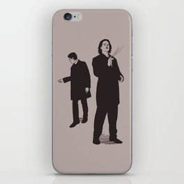 Agents Sam and Dean iPhone Skin