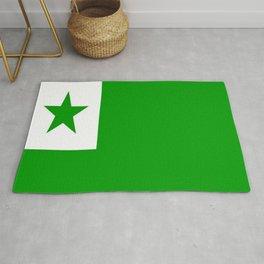 Flag of Esperanto 1 Rug