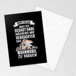 Lustiges Geschenk Wohnmobil Besitzer Stationery Cards