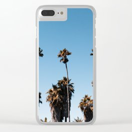 Palm Row Clear iPhone Case