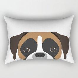Boxer Portrait Rectangular Pillow