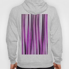 Lavender, Iris and Grape Stripy Pattern Hoody