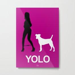 YOLO #1 Metal Print