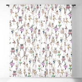 Animal Square Dance Blackout Curtain