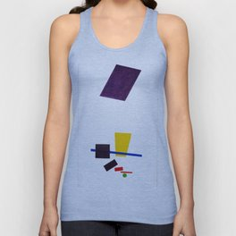 Kazimir Malevich - Painterly Realism of a Football Player—Color Masses in the 4th Dimension (new edi Unisex Tank Top