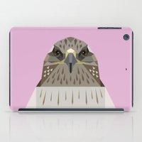 hawk iPad Cases featuring Hawk by Alysha Dawn