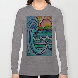 Beachy #society6 #spring #summer Long Sleeve T-shirt