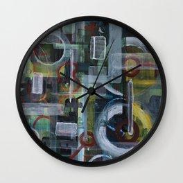 Abstract 1017 Wall Clock