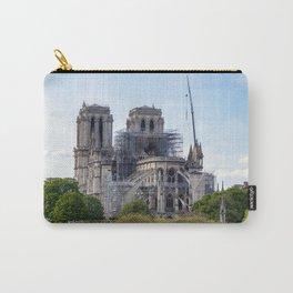 Notre Dame de Paris, the day after the fire Carry-All Pouch