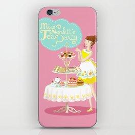 Miss Norbitt's Tea Party iPhone Skin