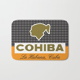 COHIBA CIGARS Bath Mat