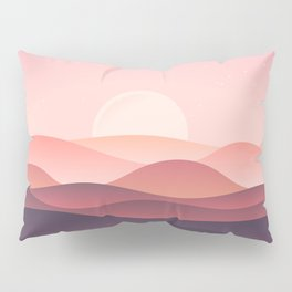 Moon hills Pillow Sham