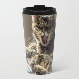 The laughing cat Travel Mug