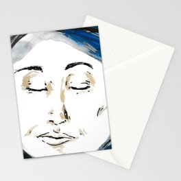 The Woman in the Moon Stationery Cards
