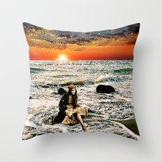 Gypsy Tide Throw Pillow