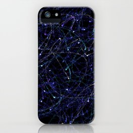 Abstract 839450 iPhone Case