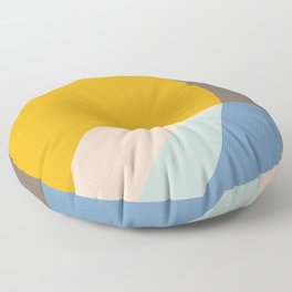 Organic Overlap Floor Pillow